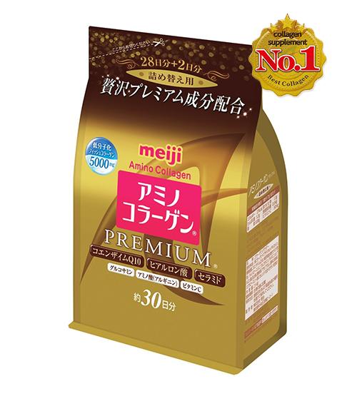 Bột Collagen Meiji Amino Premium