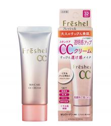 Kem trang điểm Kanebo Freshel Skincare CC Cream