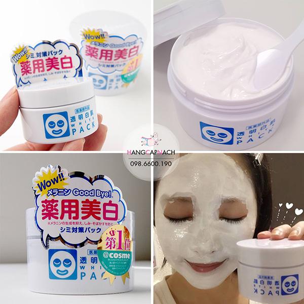 Mặt nạ ủ trắng da White Pack của Nhật