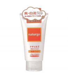 Mặt nạ đất sét trắng Shiseido Naturgo White Clay Facial Pack