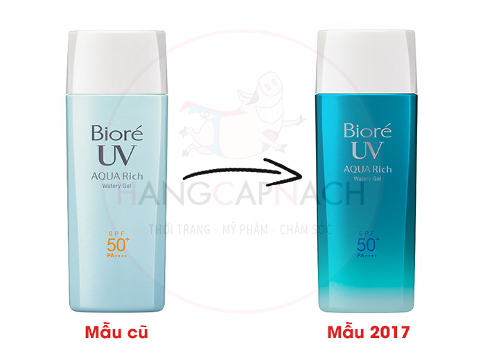 Biore Aqua Rich Watery Gel 2017