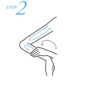Hướng dẫn bôi kem chống nắng cho body - bước 2