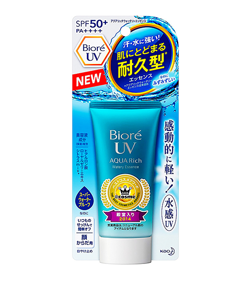 Kem chống nắng Biore Aqua Rich Watery Essence 2017