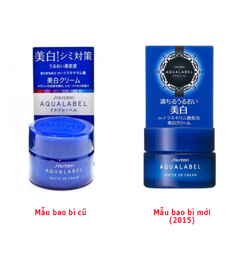 shiseido-aqualabel-white-up-cream-mau-moi