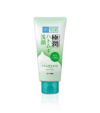 Sữa rửa mặt Hada Labo Gokujyun Hatomugi Face Wash