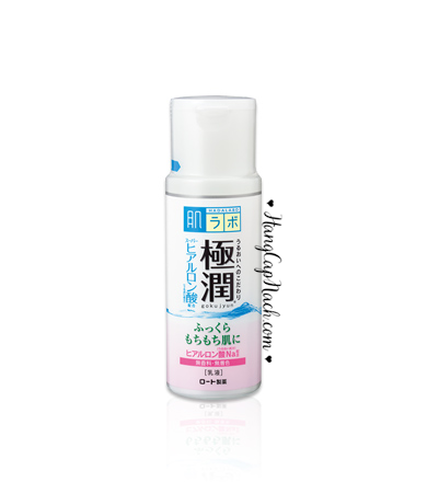 Sữa dưỡng ẩm Hada Labo Gokujyun Hyaluronic Acid Emulsion