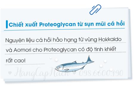 Tinh chất sụn mũi cá hồi Fracora LIFTest Proteoglycan
