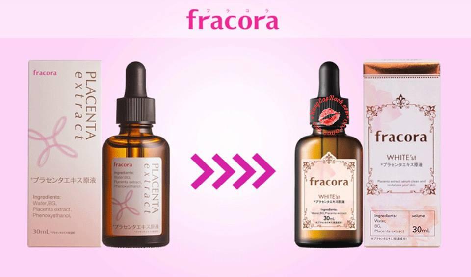 Serum nhau thai Fracora mẫu mới 2016