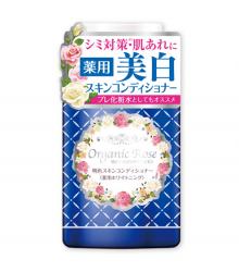 Nước hoa hồng dưỡng trắng Meishoku Organic Rose Whitening Skin Conditioner