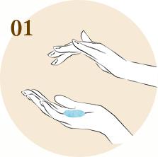 Cách bôi serum đúng cách - bước 1