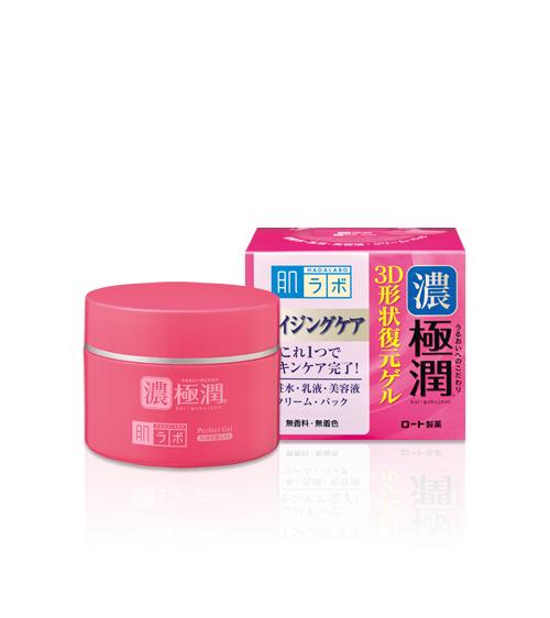 Kem dưỡng chống lão hóa Hada Labo Gokujyun 3D Perfect Gel