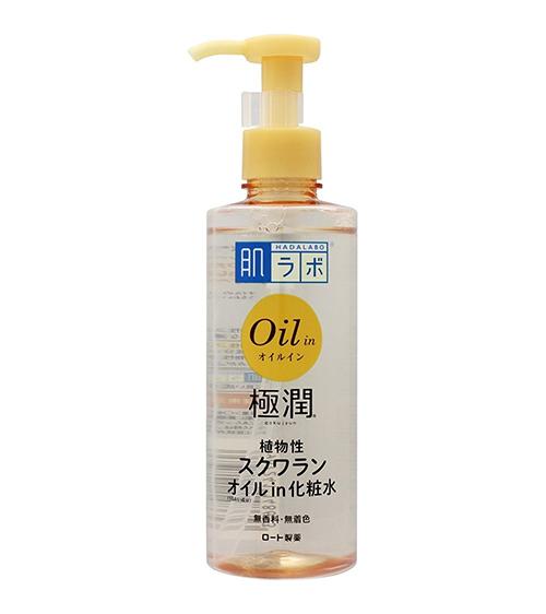 Nước hoa hồng Hada Labo Gokujyun Oil-in Lotion