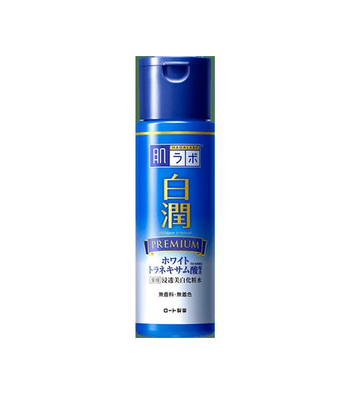 Nước hoa hồng dưỡng trắng Hada Labo Shirojyun Premium Whitening Lotion