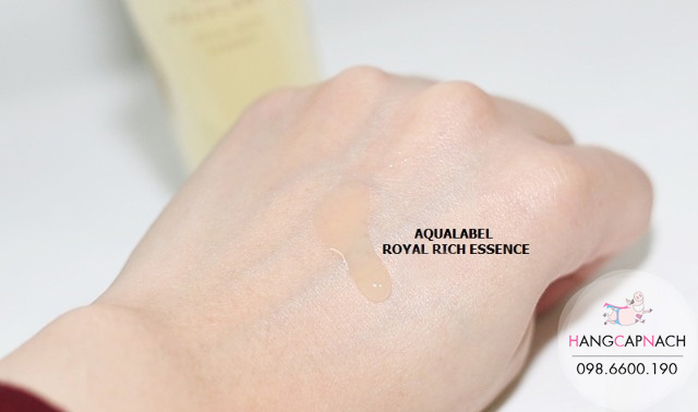 Serum Shiseido Aqualabel Royal Rich Essence