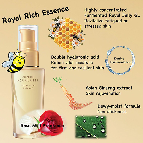 Shiseido Aqualabel Royal Rich Essence
