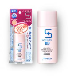 Kem chống nắng trang điểm Shiseido Sunmedic Medicated BB Protect Mild