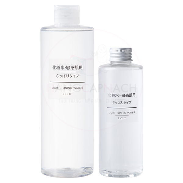 Nước hoa hồng Muji Light Toning Water - Light