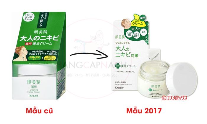 Kem dưỡng da mụn Kracie Acne Care 2017