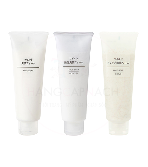 Sữa rửa mặt Muji (Mild Type)
