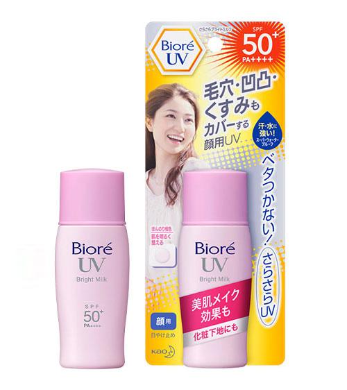 Kem chống nắng Biore Bright Milk