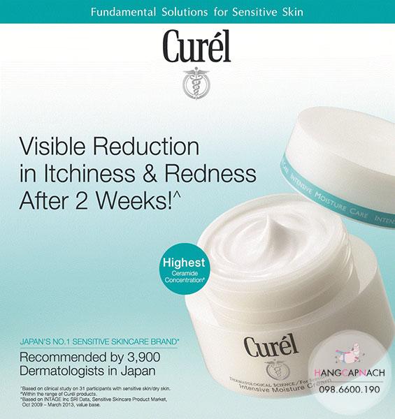 Kem dưỡng Curel Intensive Moisture Cream Nhật Bản