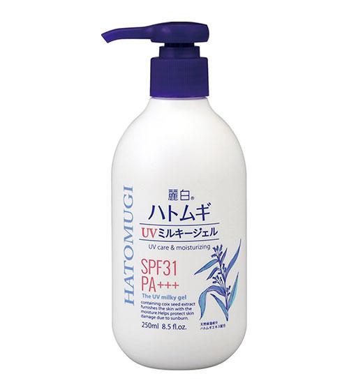 Sữa dưỡng thể chống nắng Hatomugi UV Milky Gel