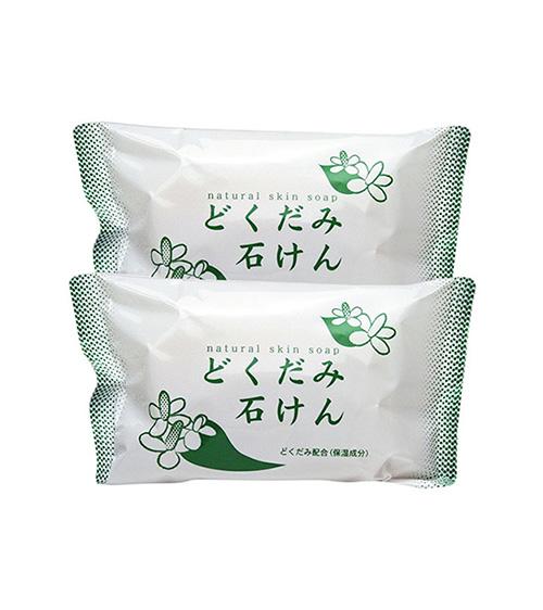 Xà phòng diếp cá trị mụn Dokudami Natural Skin Soap