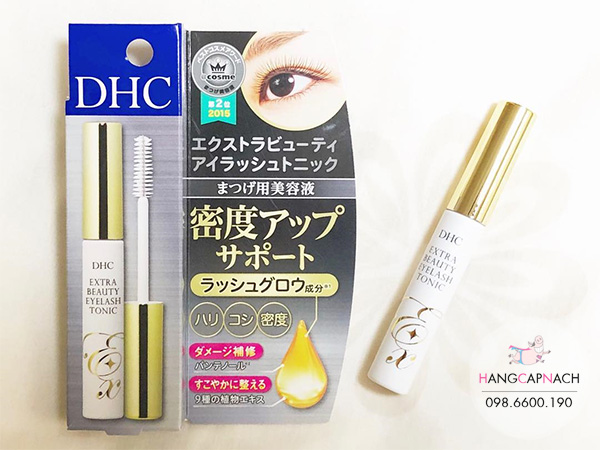 Serum dưỡng mi DHC Extra Beauty Eyelash Tonic Nhật Bản