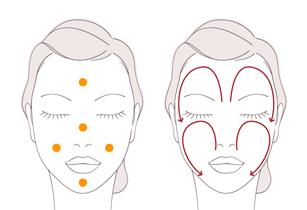Cách dùng kem tẩy trang Shiseido Aqualabel màu đỏ