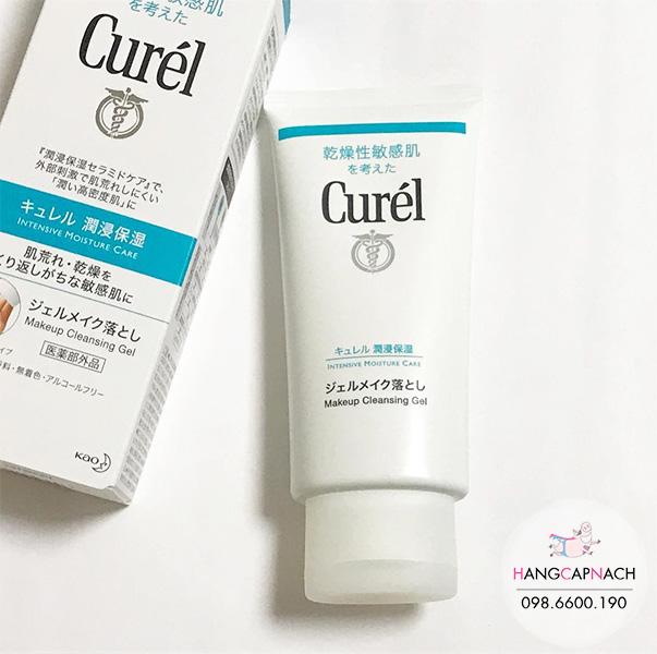 Gel tẩy trang Curel Nhật Bản