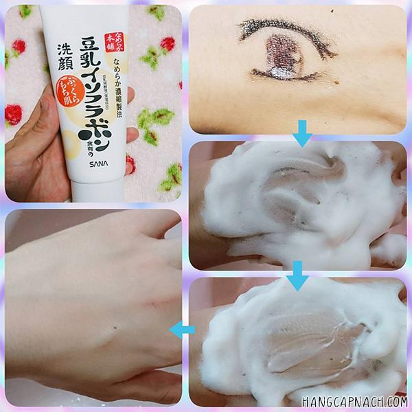 Sữa rửa mặt Sana Nhật Bản