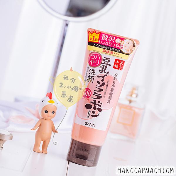Sữa rửa mặt Sana Q10 Nhật Bản