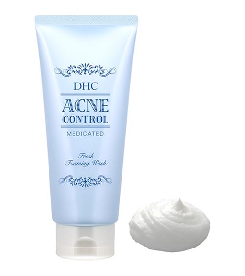 Sữa rửa mặt trị mụn DHC Acne Control Fresh Foaming Wash
