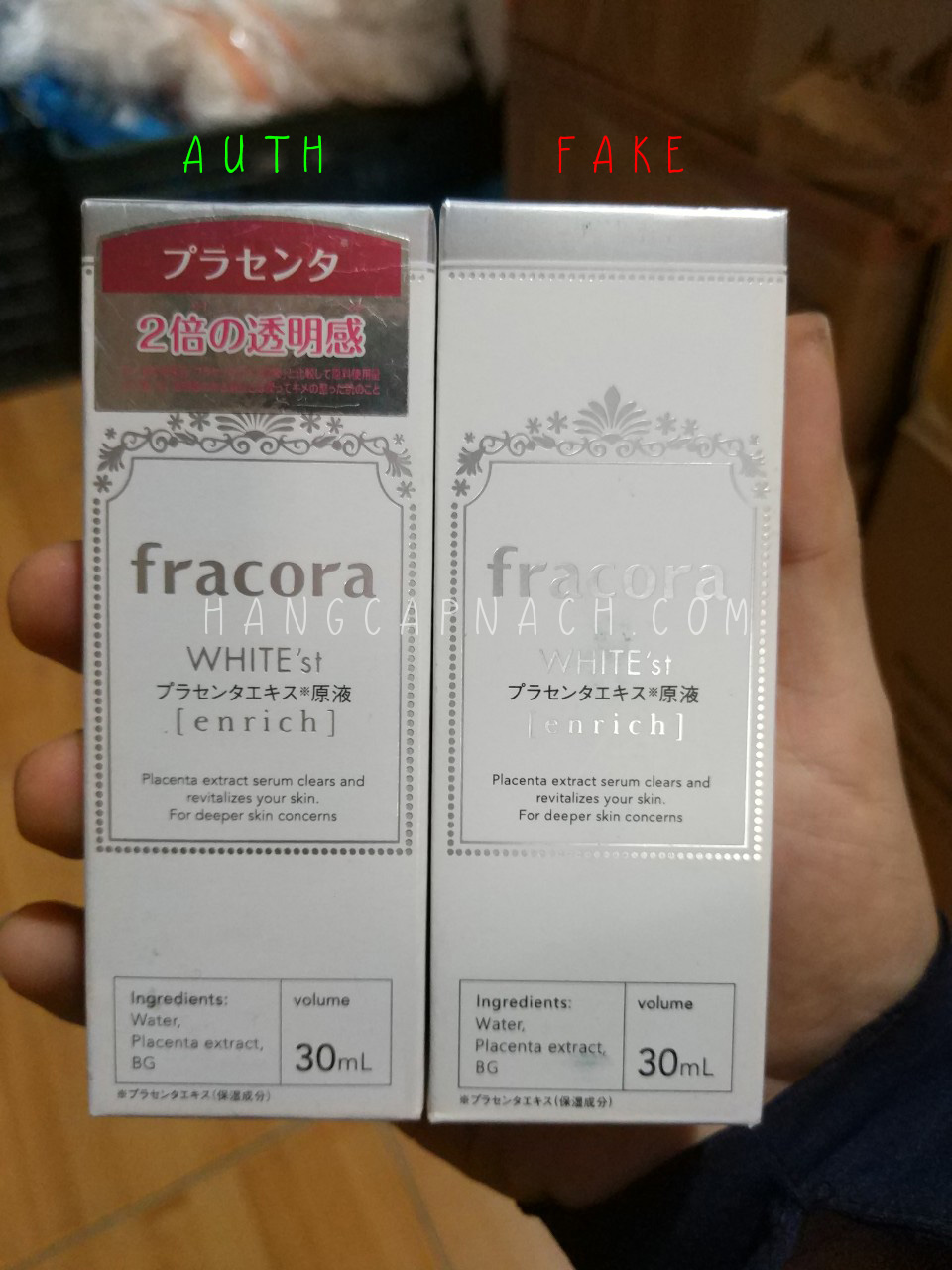 Fracora Enrich fake 1
