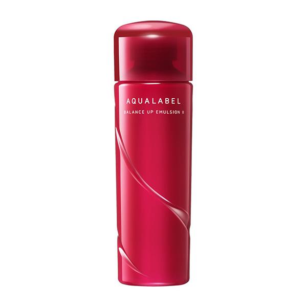 Sữa dưỡng cân bằng da Shiseido Aqualabel Balance Up Emulsion màu đỏ