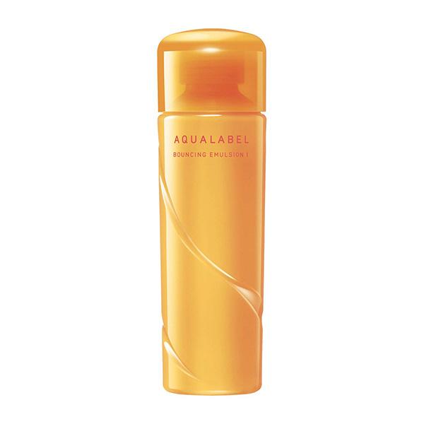 Sữa dưỡng chống lão hóa Shiseido Aqualabel Bouncing Emulsion màu vàng