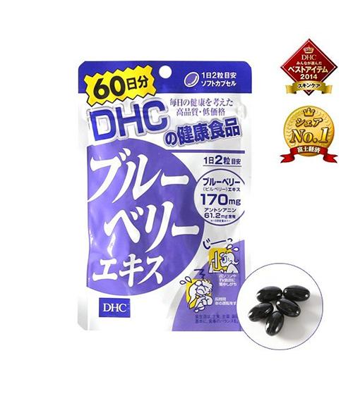 Viên uống bổ mắt DHC Blueberry Extract