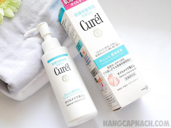Dầu tẩy trang Curel Nhật Bản